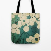 spring Tote Bags featuring spring by Laura Graves