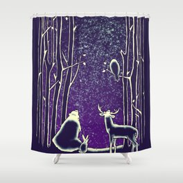 They watch them too Shower Curtain
