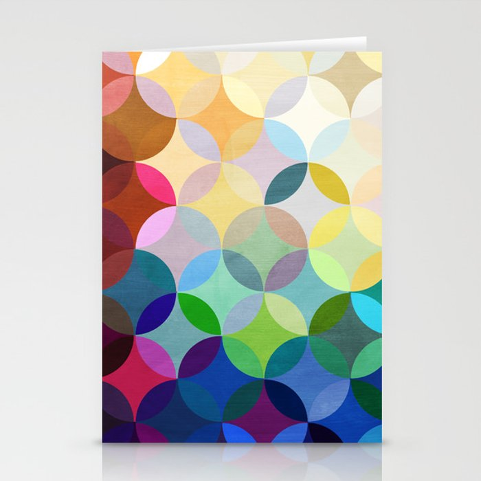 Circular Motion Stationery Cards
