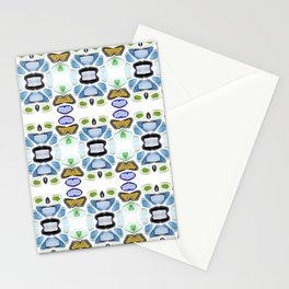 Sea Glass 21C Stationery Cards