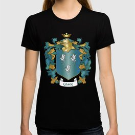 Gibson Coat of Arms and Tartan T-shirt