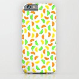 Citrus Fruits, Lemons, Limes and Oranges iPhone Case