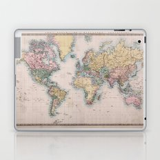 World Map 1860 Laptop & iPad Skin