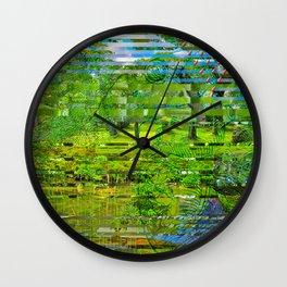 Landscape of My Heart (4 as 1) Wall Clock