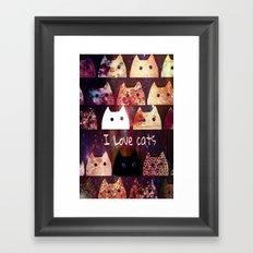 cat-844 Framed Art Print