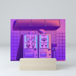 Neon Vending Machines Mini Art Print