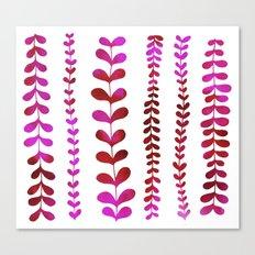 Pink Vine Canvas Print