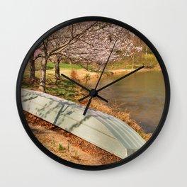 Meadowlark Spring Gardens Wall Clock