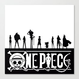 One Piece Pirates Canvas Print
