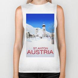 St Anton Austria Biker Tank