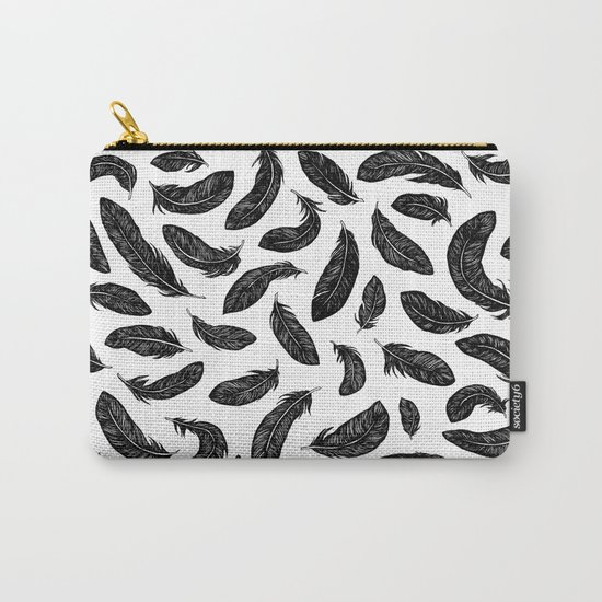 Plumes Carry-All Pouch