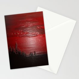 Lacquer Sunset Stationery Cards
