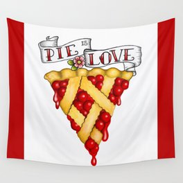 Pie Is Love Wall Tapestry