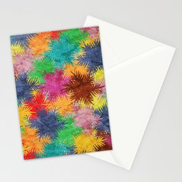 Tropical Fan Palm Paradise – Colorful #05 Stationery Cards