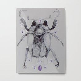 Scarabaeidae Metal Print