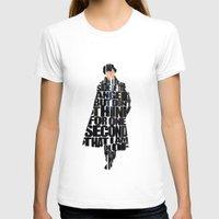sherlock holmes T-shirts featuring Sherlock Holmes by Ayse Deniz