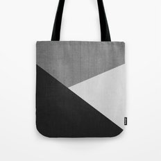 Concrete & Triangles II Tote Bag