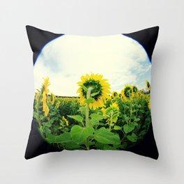 Sunflower 13 Throw Pillow