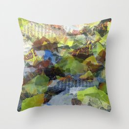 Paper Access Throw Pillow
