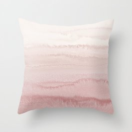 WITHIN THE TIDES - BALLERINA BLUSH Throw Pillow