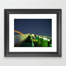 Magic Mountain Framed Art Print