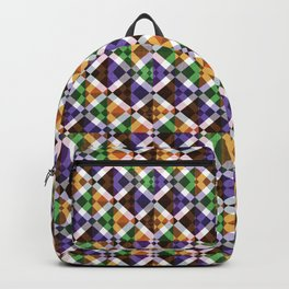 Retro Box Mosaic Backpack