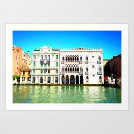 Ca' D'Oro Palace - Venice, Italy Art Print