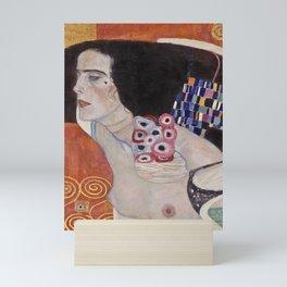 Gustav Klimt - Judith II Salome  Mini Art Print