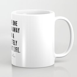 2  | Mel Robbins Quotes | 190802 Coffee Mug