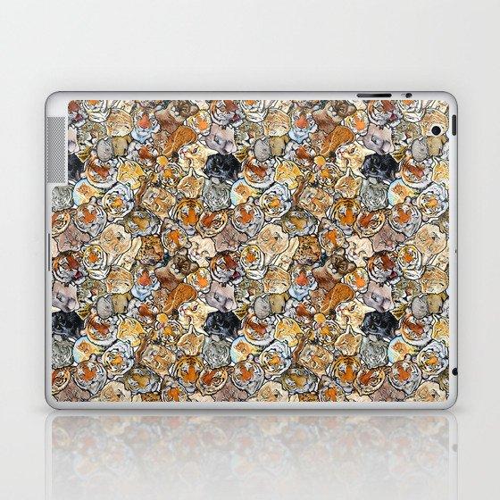 Big Cat Collage Laptop & iPad Skin