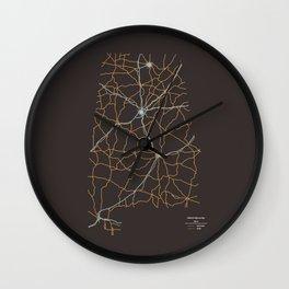 Alabama Highways Wall Clock