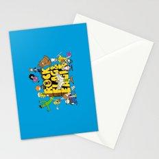 Rock, Flag & Eagle Stationery Cards