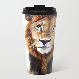 Lion Metal Travel Mug