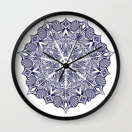 Cristal Nautical Mandala Wall Clock