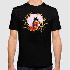 Delicious Clouds SMALL Black Mens Fitted Tee