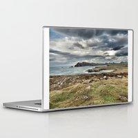 ruben ireland Laptop & iPad Skins featuring Ireland Calls by Christine Workman