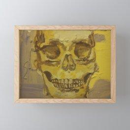 anatomy study Framed Mini Art Print