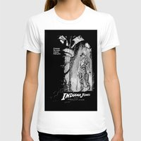 indiana jones T-shirts featuring Indiana Jones and the Temple of Doom by Meredith Mackworth-Praed