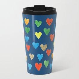 hearts hearts hearts Travel Mug