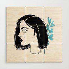 Portrait Wood Wall Art