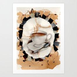 Hot: Tea Art Print