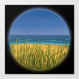 World Within Me - Beachside Canvas Print