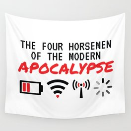 The Four Horsemen Of The Modern Apocalypse Wall Tapestry
