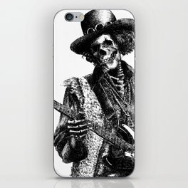 The Legend of Guitarist iPhone Skin