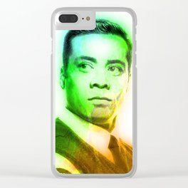 WILL JACKSON Clear iPhone Case