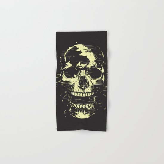 Scream (gold) Hand & Bath Towel
