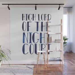 High Lord of the Night Court Wall Mural