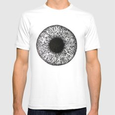 Iris Mens Fitted Tee 2X-LARGE White