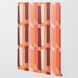 Line In Coral #society6 #abstractart Wallpaper