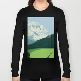 Golf Course Long Sleeve T-shirt